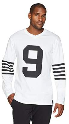 Flying Ace Men's Jersey Oversized Side Slit T-Shirt