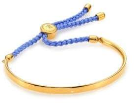 Monica Vinader Fiji Friendship Bracelet/Powder Blue