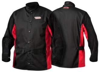 Lincoln Electric K2986 Shadow Split Leather Sleeved Jacket, X- Large