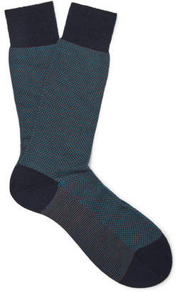 Pantherella Blenheim Merino Wool-Blend Socks