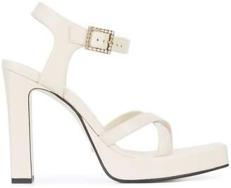Gucci extended platform sole sandals