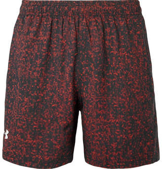 Under Armour Printed Heatgear And Mesh Shorts