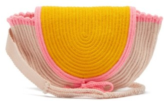 Sophie Anderson Cara Woven Belt Bag - Womens - Yellow Multi