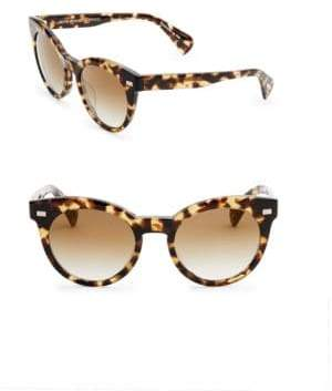 Oliver Peoples Dore 51MM Gradient Mirrored Cat Eye Sunglasses