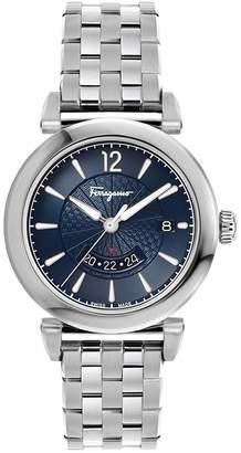 Salvatore Ferragamo Men's 'FERONI' Swiss Quartz Stainless Steel Casual Watch, Color:Silver-Toned (Model: F44040017)