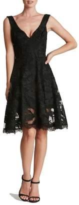 Dress the Population Maya Woven Fit & Flare Dress