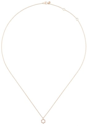 Astley Clarke Honeycomb diamond pendant necklace