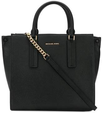 9240391c49c1 MICHAEL Michael Kors Black Open Top Bags For Women - ShopStyle UK