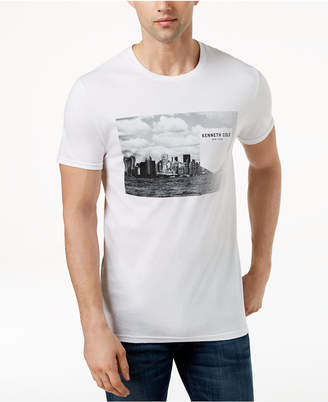Kenneth Cole New York Kenneth Cole Men's Graphic-Print Faux-Pocket T-Shirt
