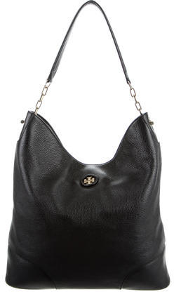 Tory BurchTory Burch Pebbled Leather Hobo