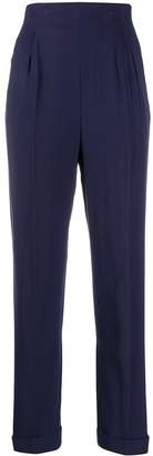 Romeo Gigli Pre-Owned 1990's micro pleated tailored trousers