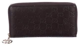 Gucci Guccissima Shine Zip-Around Wallet
