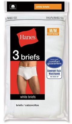 Hanes Men's 3 Pack Brief, 2XL