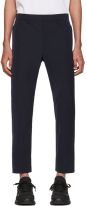 Prada Navy Light Stretch Techno Trousers