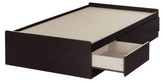 South Shore Twin Vito Mates Bed with 3 Drawers