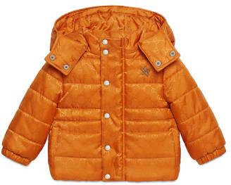 Baby GG nylon padded jacket $685 thestylecure.com