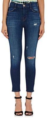 J Brand Women's Alana Skinny Jeans-BLUE $238 thestylecure.com