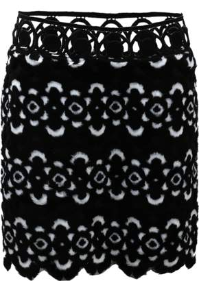 Anna Sui Blooming Floral Skirt
