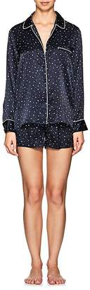 Clearance Cheap Womens Star-Print Silk Pajama Set Barneys New York Perfect New Lower Prices qqKDYu