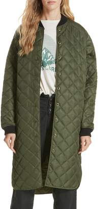 The Great Quilted Long Coat