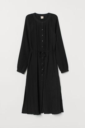 H&M Pleated Tunic - Black