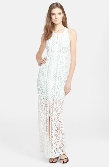 Tracy Reese Lace Maxi Dress
