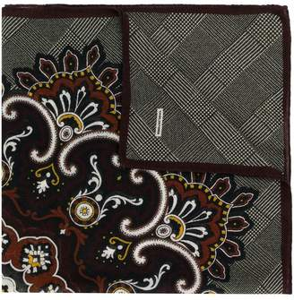 Tagliatore check print foulard