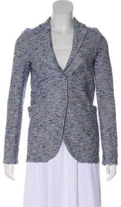 Harris Wharf London Tweed Notch-Lapel Blazer