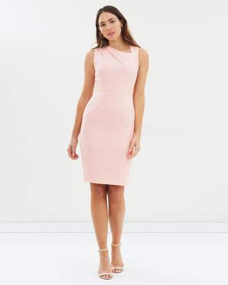Dorothy Perkins Pleated Sleeveless Dress