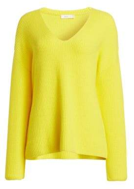 A.L.C. Sierra V-Neck Ribbed Sweater