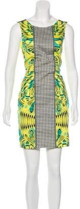 Versace Printed Mini Dress