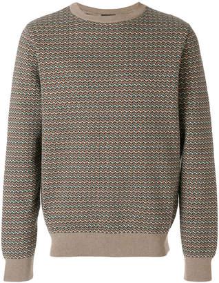 A.P.C. round neck knit jumper