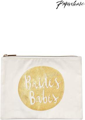 Next Womens Paperchase Wedding Brides Babes Pouch