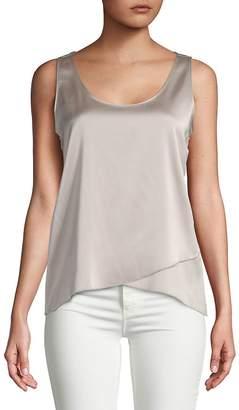 Calvin Klein Women's Asymmetrical Sleeveless Top