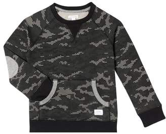 art & eden Eli Digi Camo Organic Cotton Sweatshirt