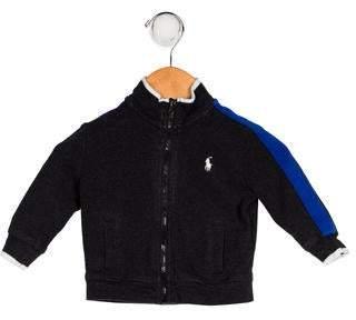 Ralph Lauren Boys' Mock Neck Zip-Up Jacket