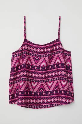H&M Viscose Camisole Top - Pink