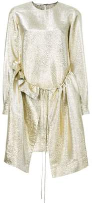 Stella McCartney long sleeved shimmer dress