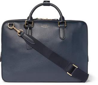 Smythson Burlington Pebble-Grain Leather Briefcase