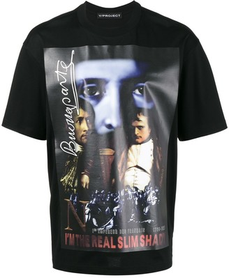 Y/Project Slim Shady print t-shirt