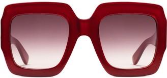 Gucci Square-frame sunglasses