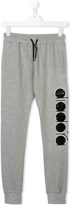 Diadora Junior drawstring logo trousers