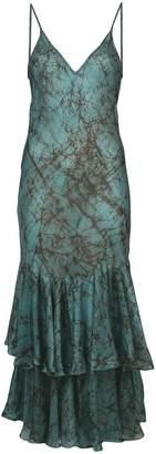 Mes Demoiselles printed tiered dress