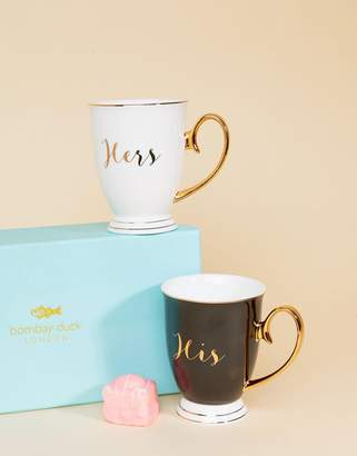 bombay duck His & Hers Mugs Set of 2
