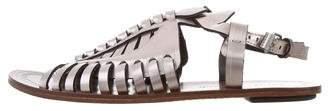Proenza Schouler Metallic Slingback Sandals