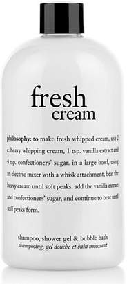 philosophy fresh cream shampoo shower gel and bubble bath