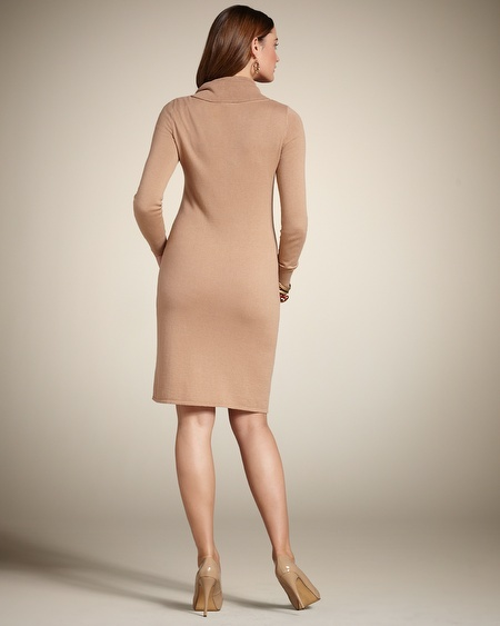 Chico's Corey Cowl Neck Dress