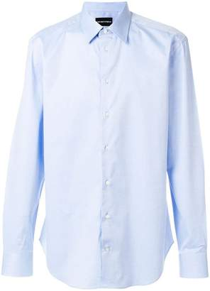 Emporio Armani buttoned long-sleeve shirt