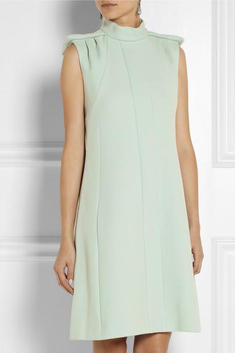 Chloé Wool-drill dress