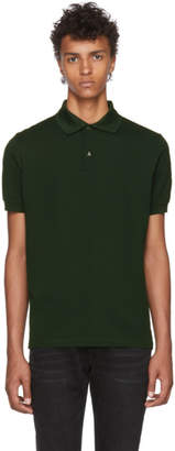 Paul Smith Green Charm Button Polo